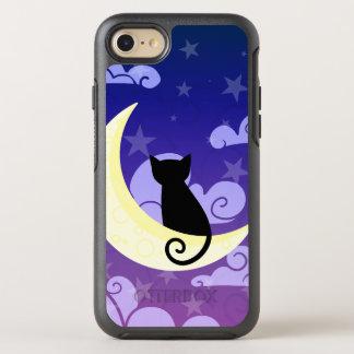 Capa Para iPhone 8/7 OtterBox Symmetry Gato na lua