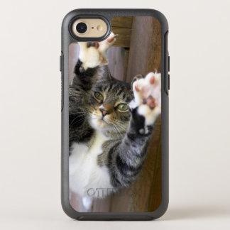 Capa Para iPhone 8/7 OtterBox Symmetry Gato que estica, dentro