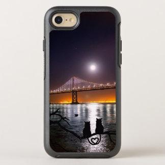 Capa Para iPhone 8/7 OtterBox Symmetry Gatos do amor