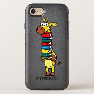 Capa Para iPhone 8/7 OtterBox Symmetry Girafa que guardara livros