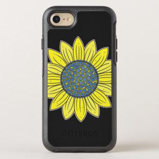 Capa Para iPhone 8/7 OtterBox Symmetry Girassol artístico