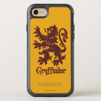 Capa Para iPhone 8/7 OtterBox Symmetry Gráfico do leão de Harry Potter   Gryffindor