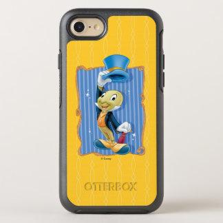 Capa Para iPhone 8/7 OtterBox Symmetry Grilo de Pinocchio   Jiminy que levanta seu chapéu