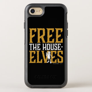 Capa Para iPhone 8/7 OtterBox Symmetry Harry Potter   livre os duendes da casa