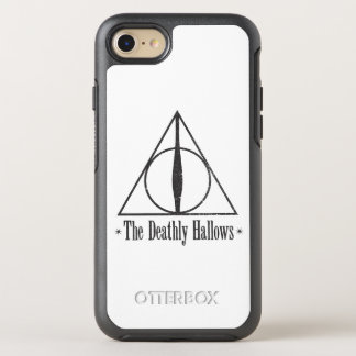 Capa Para iPhone 8/7 OtterBox Symmetry Harry Potter | o Deathly Hallows o emblema