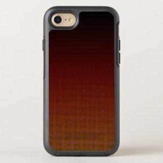 Capa Para iPhone 8/7 OtterBox Symmetry Hex alaranjado do esmagamento