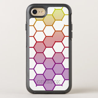 Capa Para iPhone 8/7 OtterBox Symmetry Hex da cor no branco