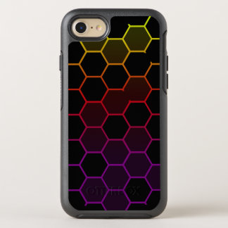 Capa Para iPhone 8/7 OtterBox Symmetry Hex da cor no preto