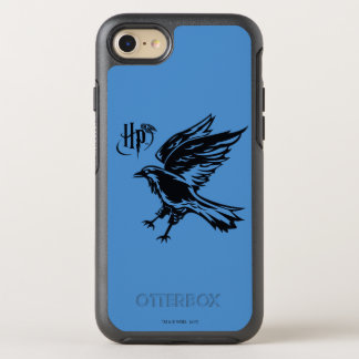 Capa Para iPhone 8/7 OtterBox Symmetry Ícone de Harry Potter   Ravenclaw Eagle