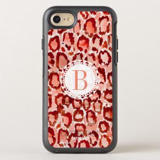 Capa Para iPhone 8/7 OtterBox Symmetry Impressão animal da pele alaranjada SELVAGEM do