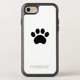 Capa Para iPhone 8/7 OtterBox Symmetry Impressão bonito da pata