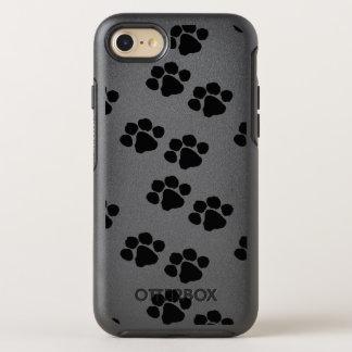 Capa Para iPhone 8/7 OtterBox Symmetry Impressões da pata para proprietários do animal de