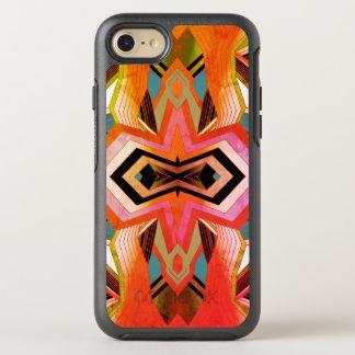 Capa Para iPhone 8/7 OtterBox Symmetry Impressões geométricas do vintage colorido
