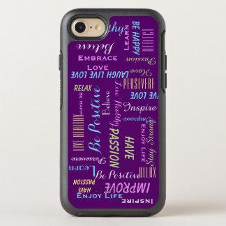 Capa Para iPhone 8/7 OtterBox Symmetry Inspirados inspiradores ESCOLHEM SUA COR