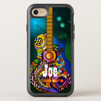 Capa Para iPhone 8/7 OtterBox Symmetry iPhone de OtterBox Apple do Hippie da guitarra
