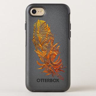 Capa Para iPhone 8/7 OtterBox Symmetry iPhone dourado 8/7 de OtterBox Apple da arte da