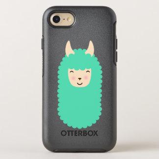 Capa Para iPhone 8/7 OtterBox Symmetry iPhone feliz Otterbox de Emoji do lama