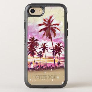 Capa Para iPhone 8/7 OtterBox Symmetry iPhone tropical do paraíso 8/7 de caso de Otterbox