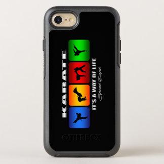 Capa Para iPhone 8/7 OtterBox Symmetry Karaté legal é um modo de vida
