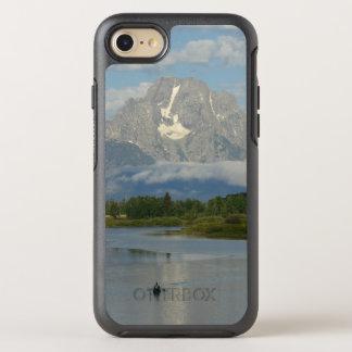 Capa Para iPhone 8/7 OtterBox Symmetry Kayaking no parque nacional grande de Teton