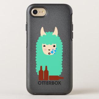 Capa Para iPhone 8/7 OtterBox Symmetry Lama bêbedo Emoji