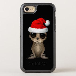 Capa Para iPhone 8/7 OtterBox Symmetry Leão de mar do bebê que veste um chapéu do papai