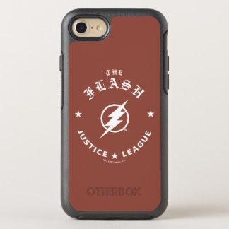 Capa Para iPhone 8/7 OtterBox Symmetry Liga de justiça   o emblema retro instantâneo do