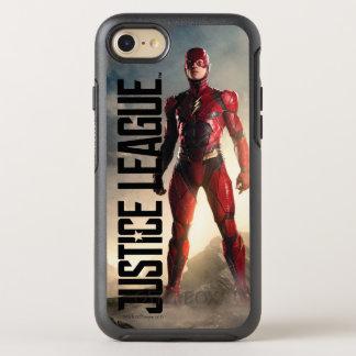 Capa Para iPhone 8/7 OtterBox Symmetry Liga de justiça   o flash no campo de batalha