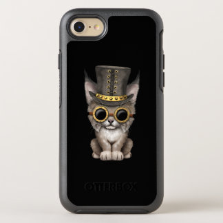 Capa Para iPhone 8/7 OtterBox Symmetry Lince bonito Cub do bebê de Steampunk
