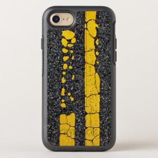 Capa Para iPhone 8/7 OtterBox Symmetry Linha amarela dobro deteriorada