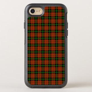 Capa Para iPhone 8/7 OtterBox Symmetry Listra verde do outono e preta alaranjada