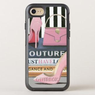 Capa Para iPhone 8/7 OtterBox Symmetry Listras do Couture de Apple selvagem   - calçados