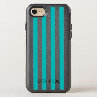 Capa Para iPhone 8/7 OtterBox Symmetry Listras verticais do Aqua