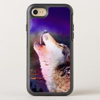 Capa Para iPhone 8/7 OtterBox Symmetry Lobo de Howlin - lobo da lua - lobo principal