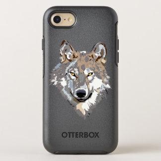 Capa Para iPhone 8/7 OtterBox Symmetry Lobo principal - ilustração do lobo - lobo