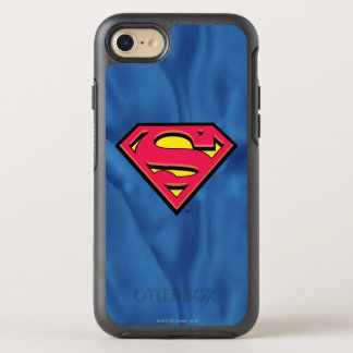 Capa Para iPhone 8/7 OtterBox Symmetry Logotipo clássico do S-Protetor | do superman