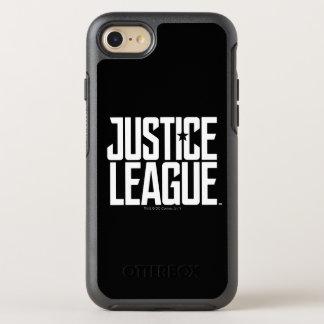 Capa Para iPhone 8/7 OtterBox Symmetry Logotipo da liga de justiça da liga de justiça  