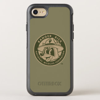 Capa Para iPhone 8/7 OtterBox Symmetry Logotipo Khaki do rick da guarda florestal do rick