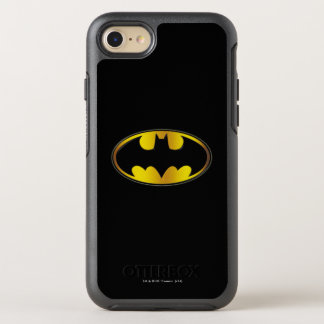 Capa Para iPhone 8/7 OtterBox Symmetry Logotipo oval do inclinação do símbolo | de Batman