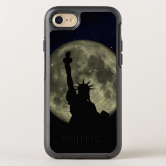 Capa Para iPhone 8/7 OtterBox Symmetry Lua e senhora Liberdade