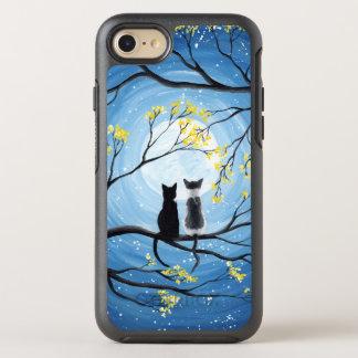 Capa Para iPhone 8/7 OtterBox Symmetry Lua lunática com gatos