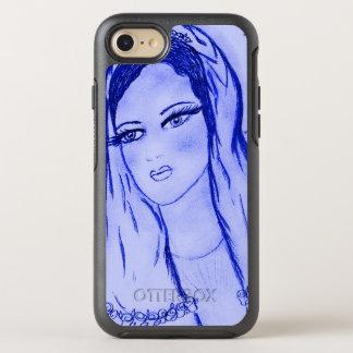 Capa Para iPhone 8/7 OtterBox Symmetry Luz das estrelas Mary - azul -