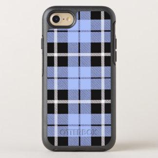 Capa Para iPhone 8/7 OtterBox Symmetry Luz de céu do bebé - listra branca/preta azul