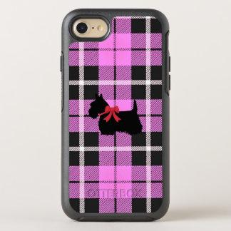 Capa Para iPhone 8/7 OtterBox Symmetry Luz do bebé - rosa com o cão de Terrier do
