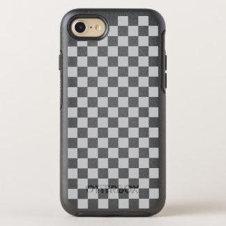Capa Para iPhone 8/7 OtterBox Symmetry Luz - tabuleiro de damas cinzento
