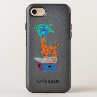 Capa Para iPhone 8/7 OtterBox Symmetry Mágica do girafa