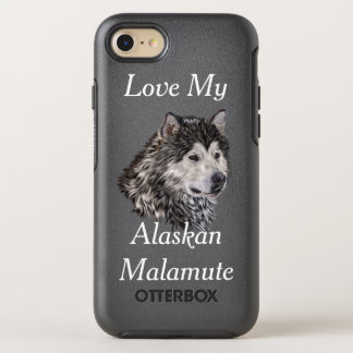 Capa Para iPhone 8/7 OtterBox Symmetry Malamute do Alasca