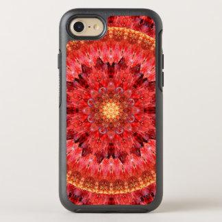 Capa Para iPhone 8/7 OtterBox Symmetry Mandala de cristal do fogo
