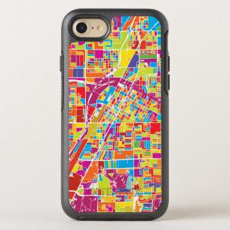 Capa Para iPhone 8/7 OtterBox Symmetry Mapa de Las Vegas colorido, Nevada