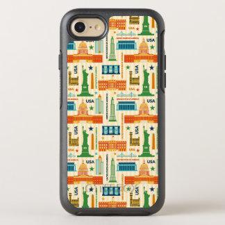 Capa Para iPhone 8/7 OtterBox Symmetry Marcos dos Estados Unidos da América